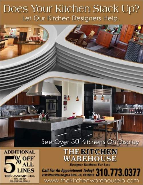 Kitchen Warehouse Case Study Ad